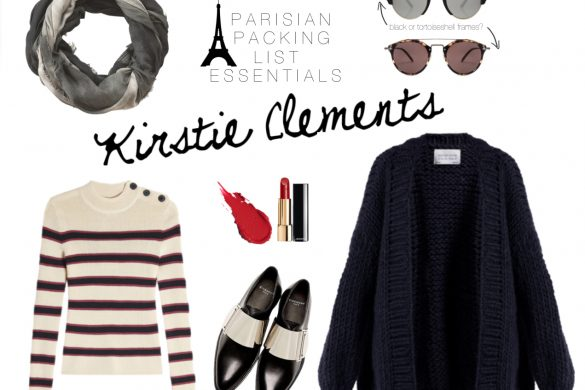 Explore paris with Kirstie Clements - what to pack