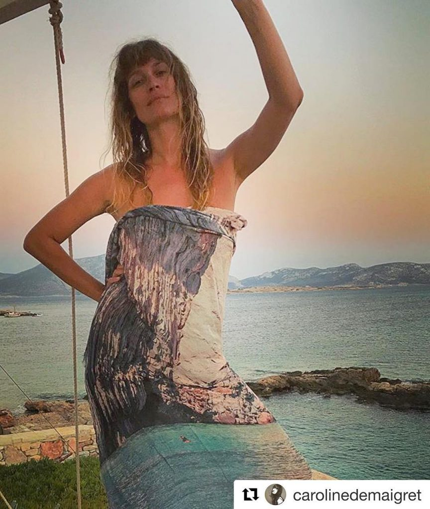 carolinedemaigret camouflage has never looked so stylish Love seeing onehellip