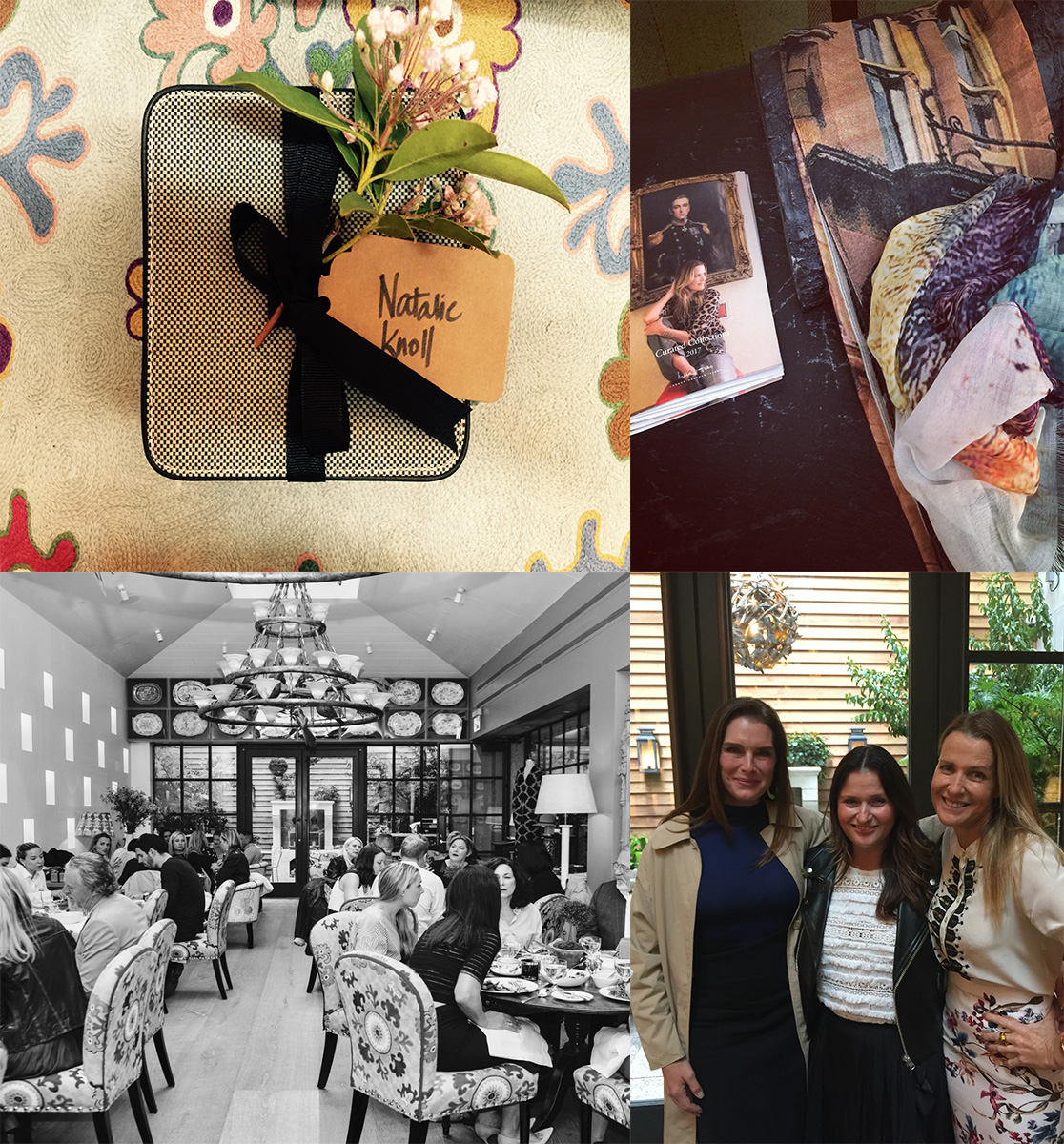 Bird and Knoll for India Hicks - the Curated Collections press launch - NYC