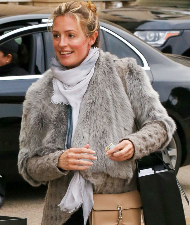 Style 1 - Cat Deeley Wearing Bird and Knoll - December 2015