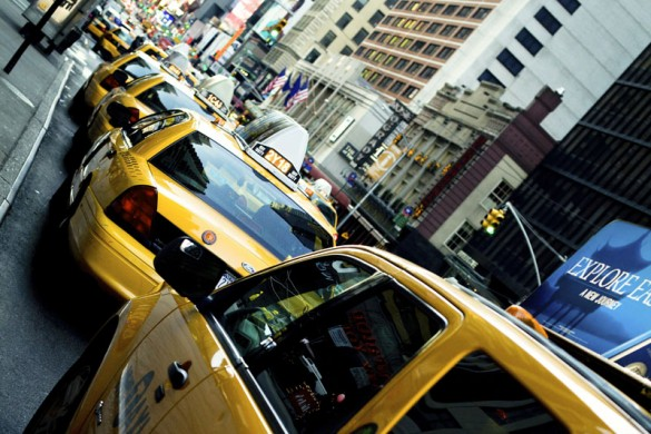 Travel in New York - the iconic yellow cab
