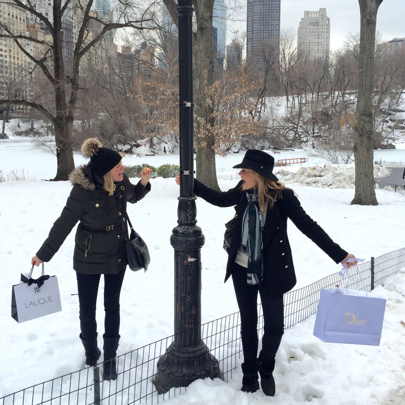 Travels in New York - Strolling in Central Park