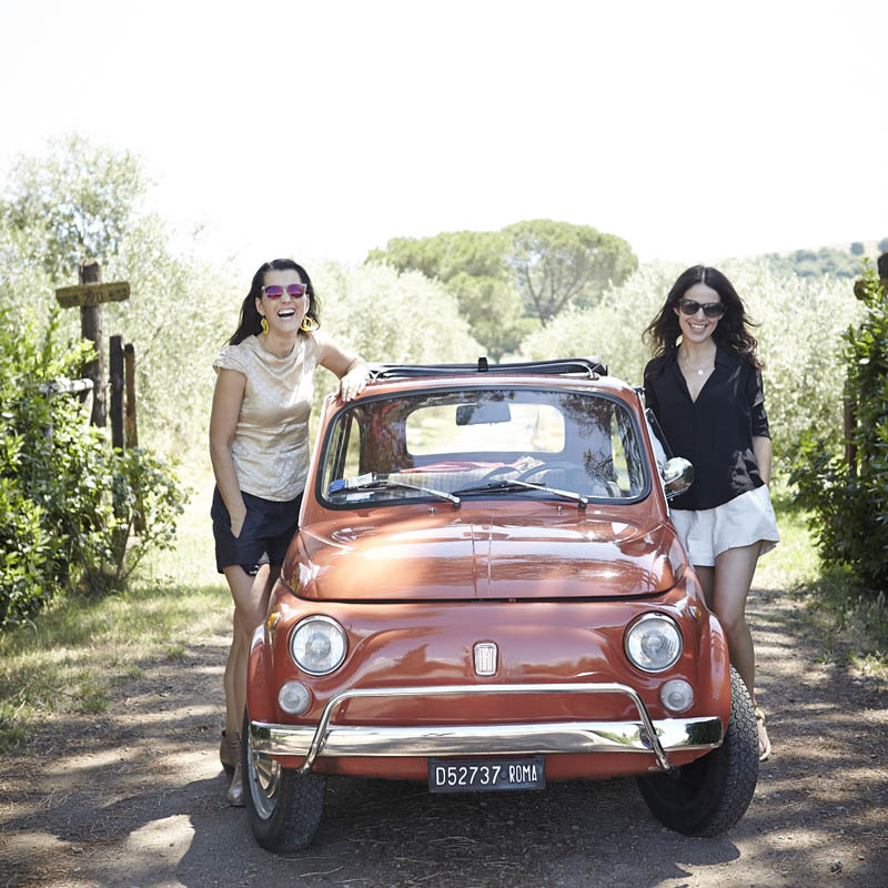 Co-founders of An Affair with Italy - Emma Scott and Julie Adams