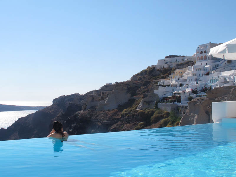 The Colour of Travel - Greek Blues in Santorini
