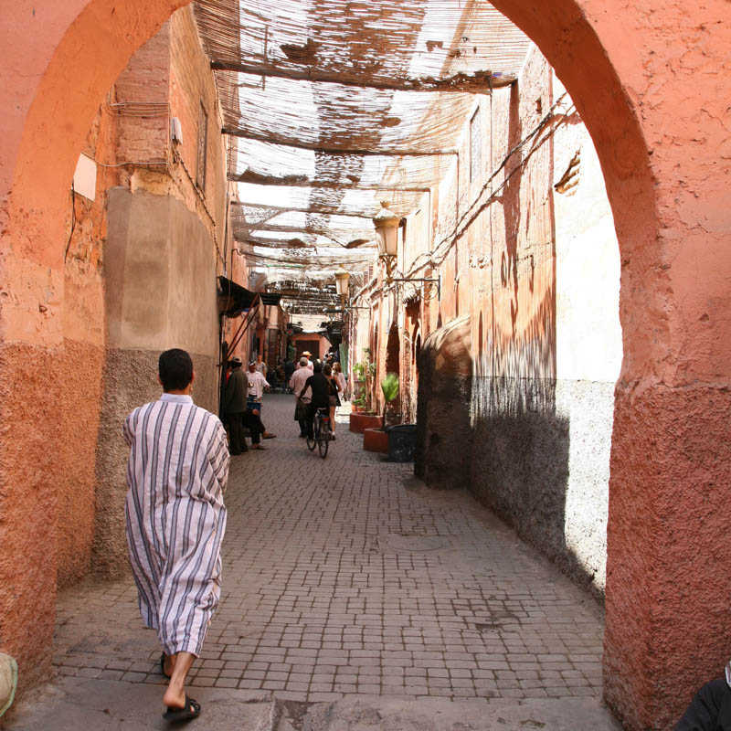 The colour of travel - Shades of saffron in morocco