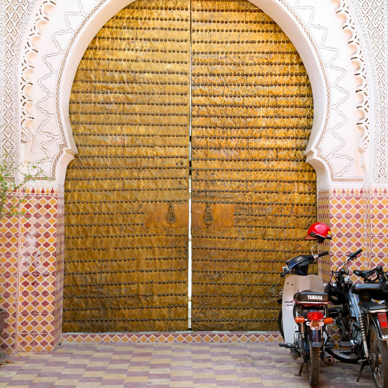 The colour of travel - texture and saffron in Marrakesh