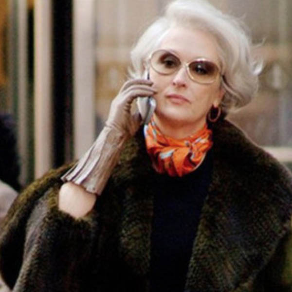Top ten scarf movie moments - The Devil Wears Prada