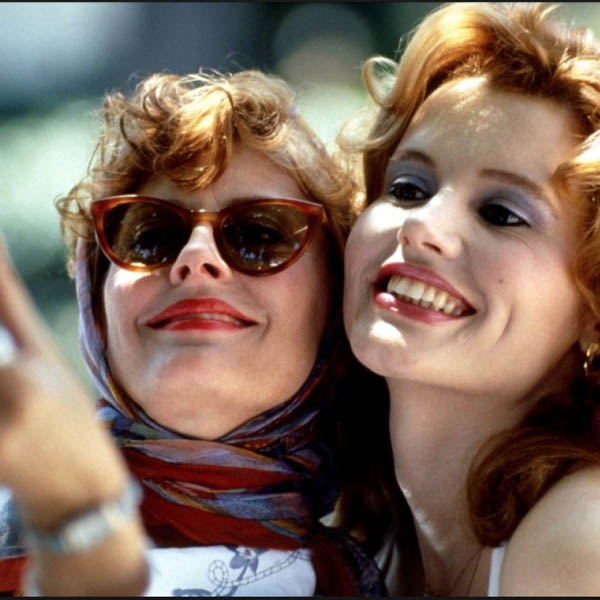 Top ten scarf movie moments - thelma and Louise