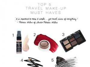 Top beauty travel essentials