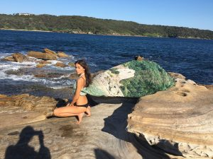 behind the scenes - shooting bird and knoll kefalonia scarf