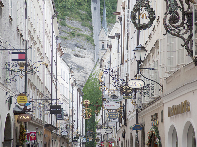 Art Hotels of Austria - Getreide Gasse in Salzburg