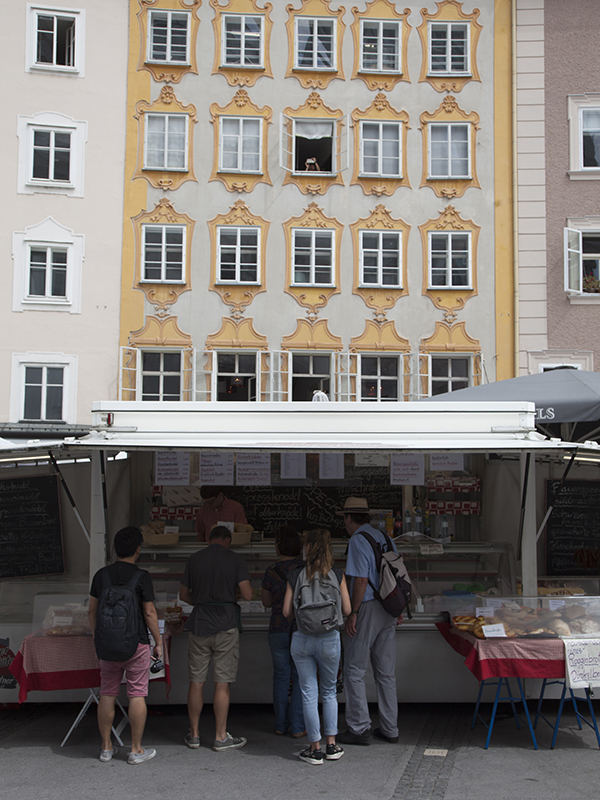 Art Hotels of Austria - Local markets in Salzburg
