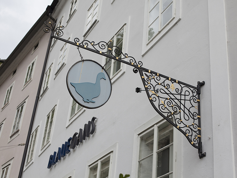 Art hotels of Austria - The Blaue Gans