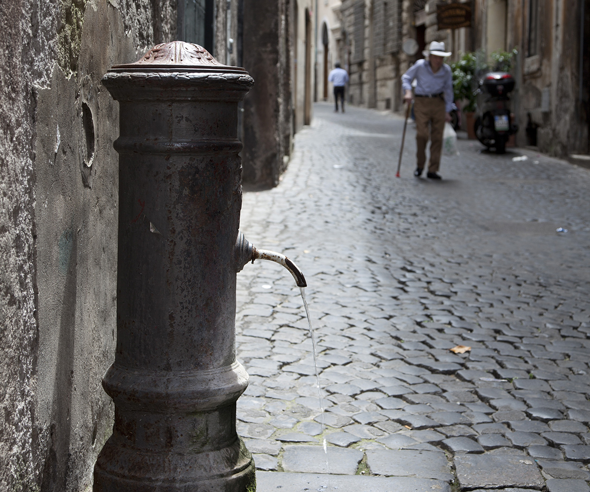 One day in Rome - the drinking nasoni