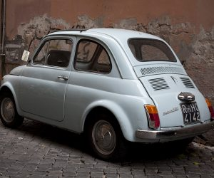 One day in Rome - the classic fiat bambini
