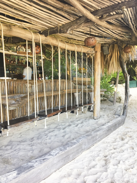 the ultimate style guide to tulum - azulik beach bar