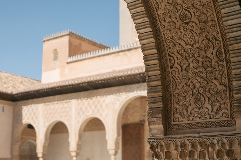 explore southern spain with escape button blog - details at the alhambra palace