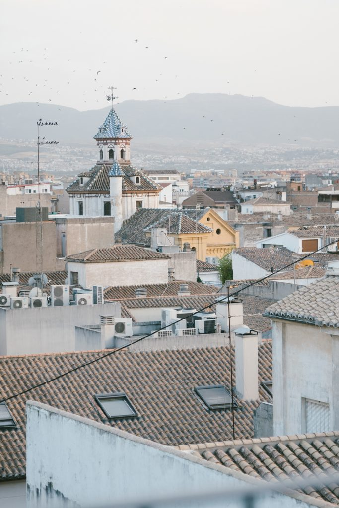 Explore southern spain with escape button blog - granada rooftops