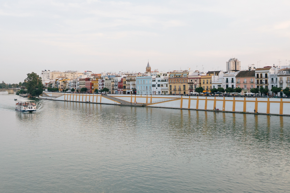 explore seville with escape button blog - the canals of seville