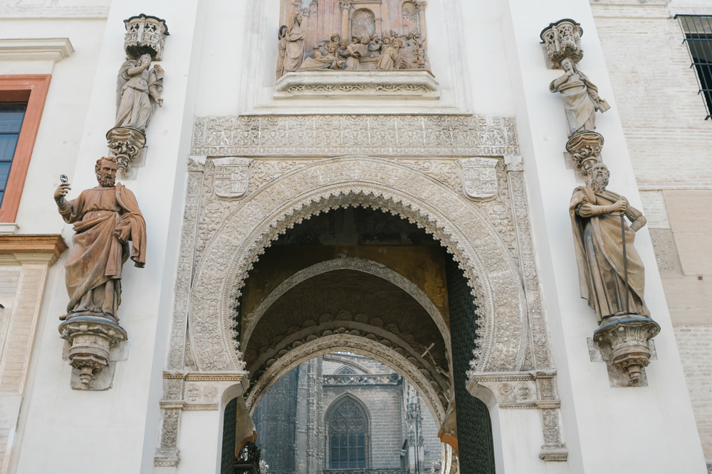 explore southern spain with escape button blog - cathedral in seville