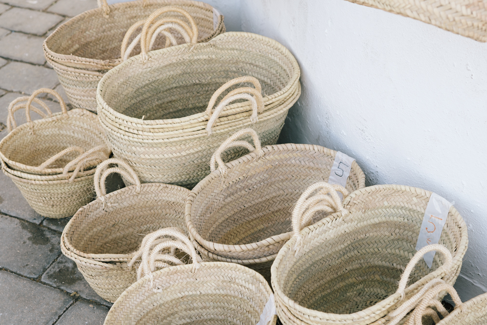 explore southern spain with escape button blog - shopping baskets in spain