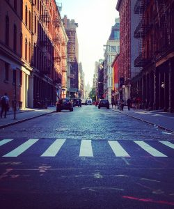 Streets of Soho New York