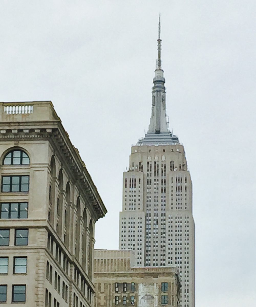 Iconic buildings in New York