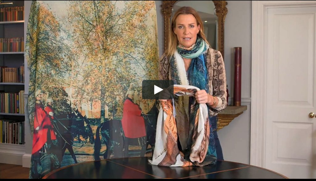 India Hicks and Bird and Knoll scarves